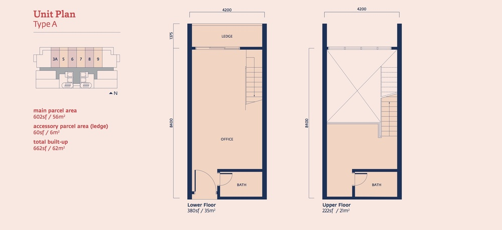 Emporis Type A Floor Plan