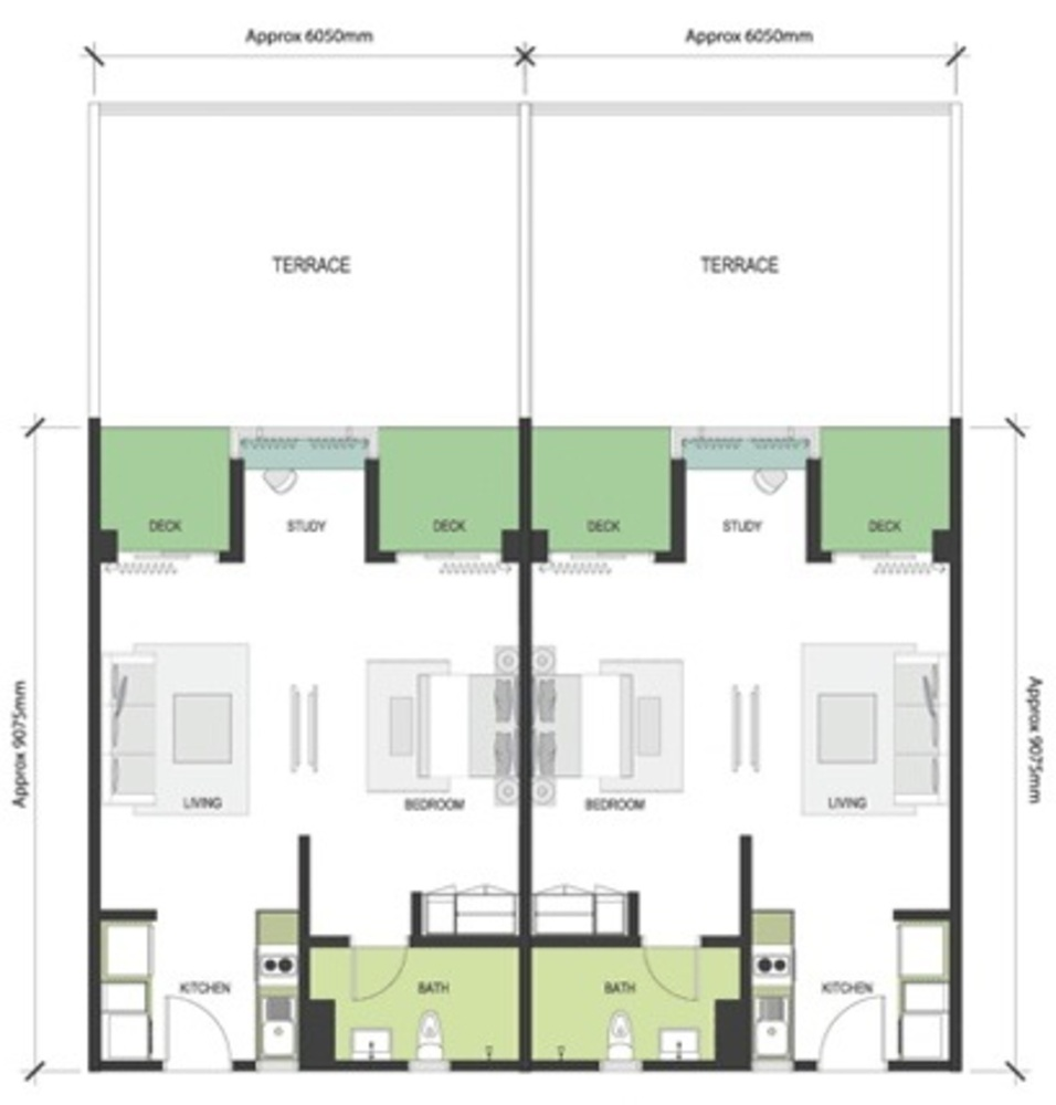 Nadayu63 Type A1a/A1b Floor Plan