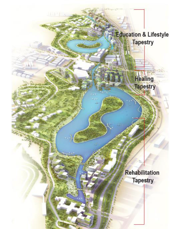 Master Plan of Mines Waterfront Designer Suites