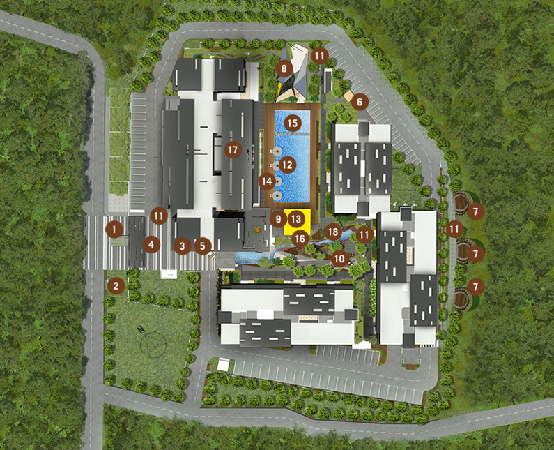 Site Plan of 9INE