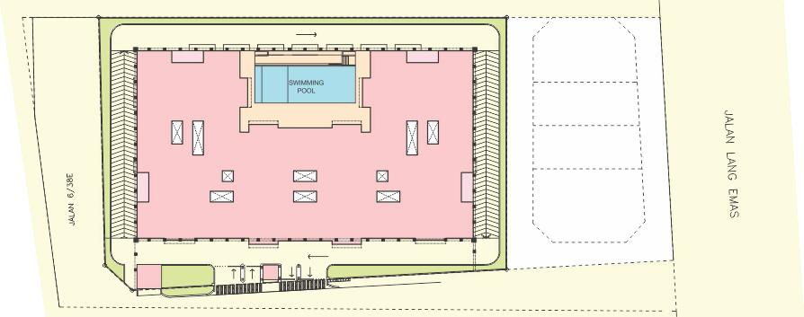 Site Plan of Mulberi Condominium