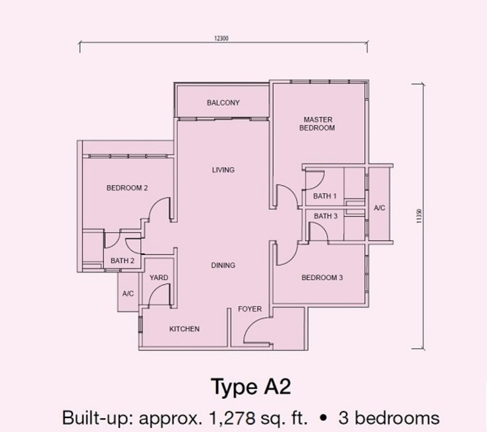 Conezión Type A2 Floor Plan