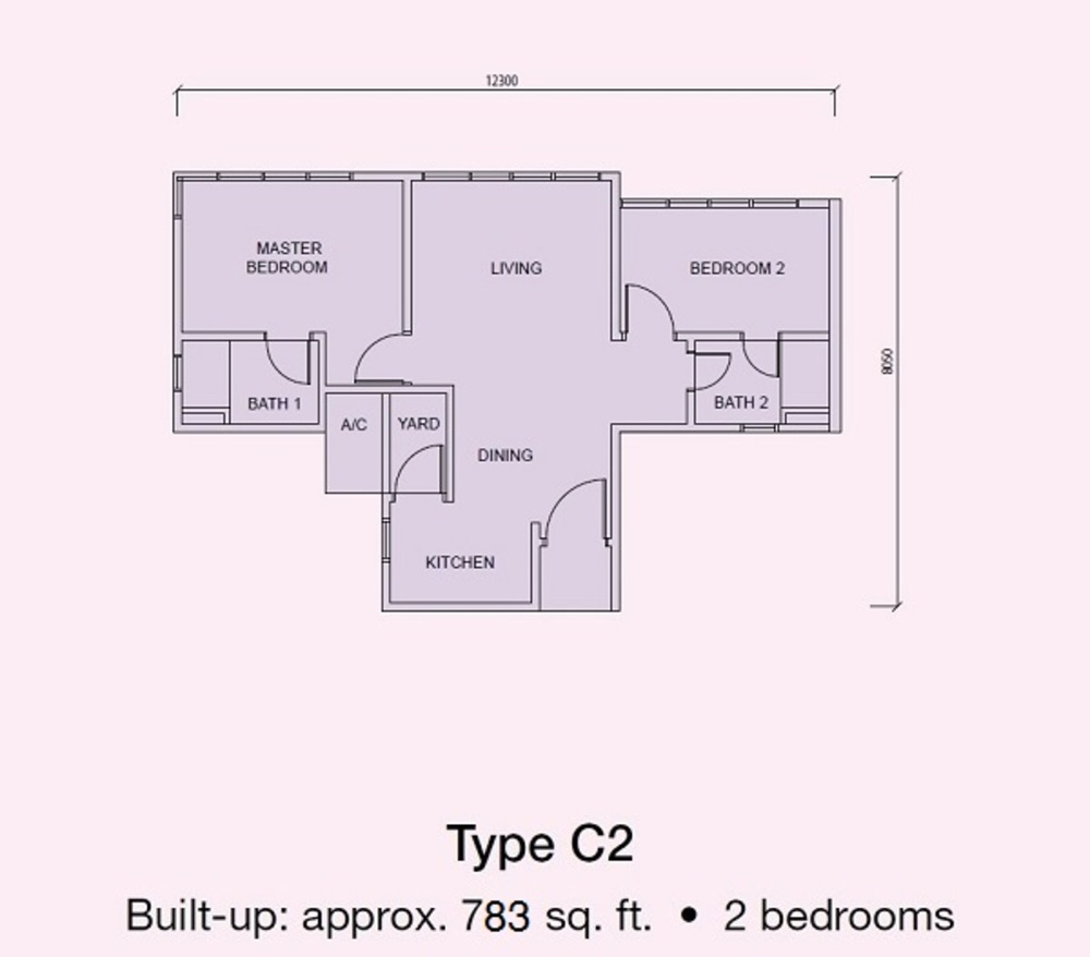Conezión Type C2 Floor Plan