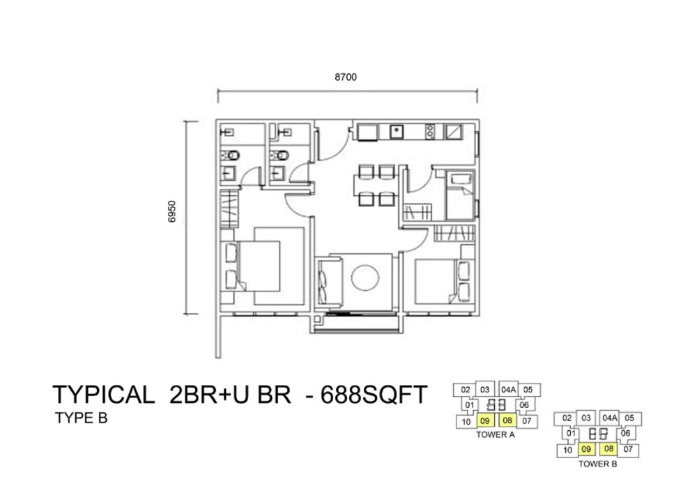 Ulasan Untuk Lexa Residence The Quartz Wangsa Maju