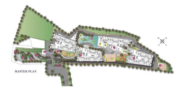 Master Plan of Nidoz Residences