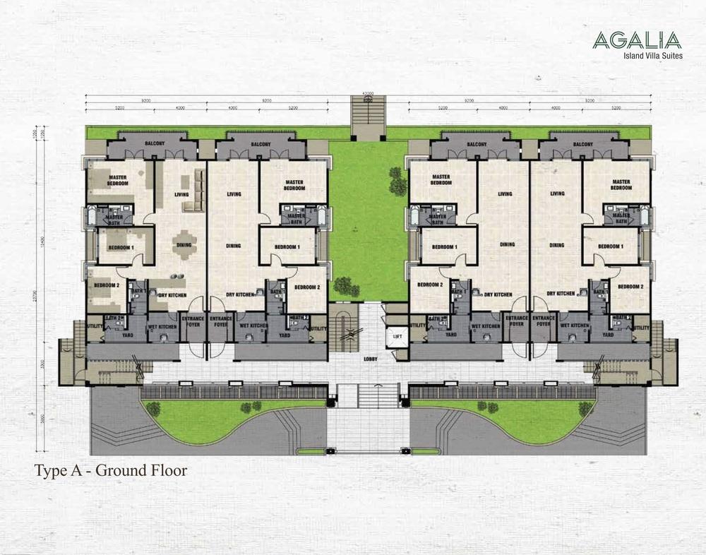 Isle of Kamares @ Setia Eco Glades Type A - Agalia Floor Plan
