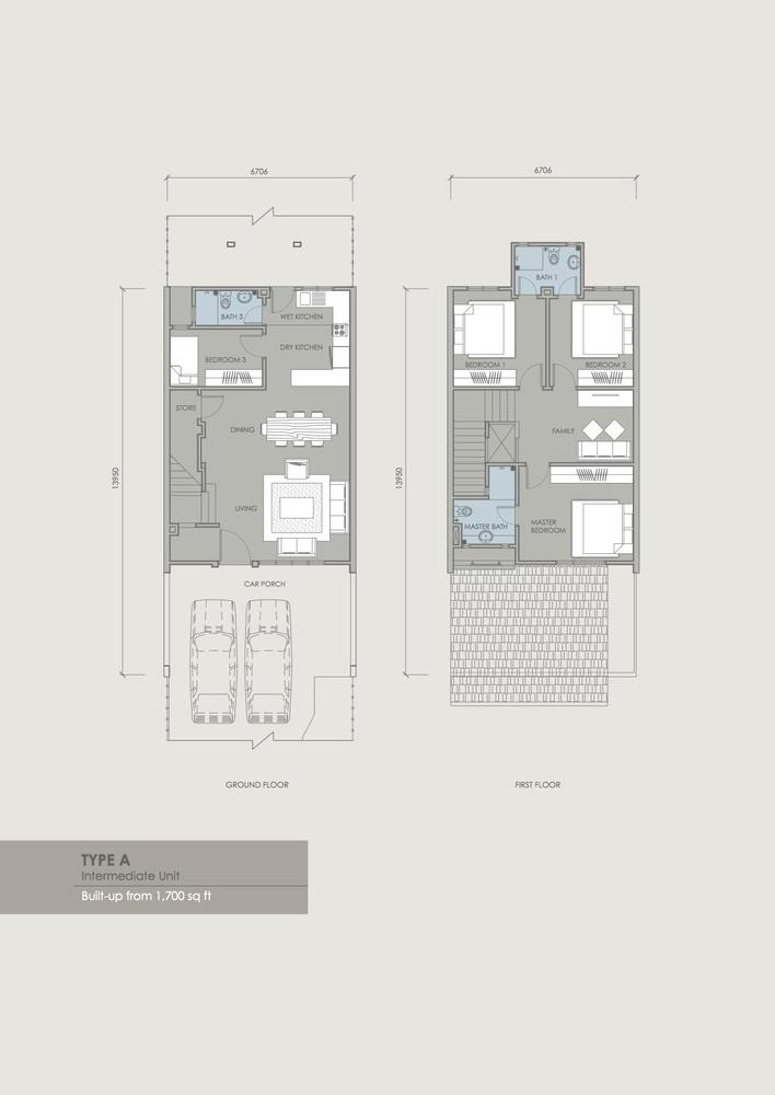 Davina Type A Floor Plan