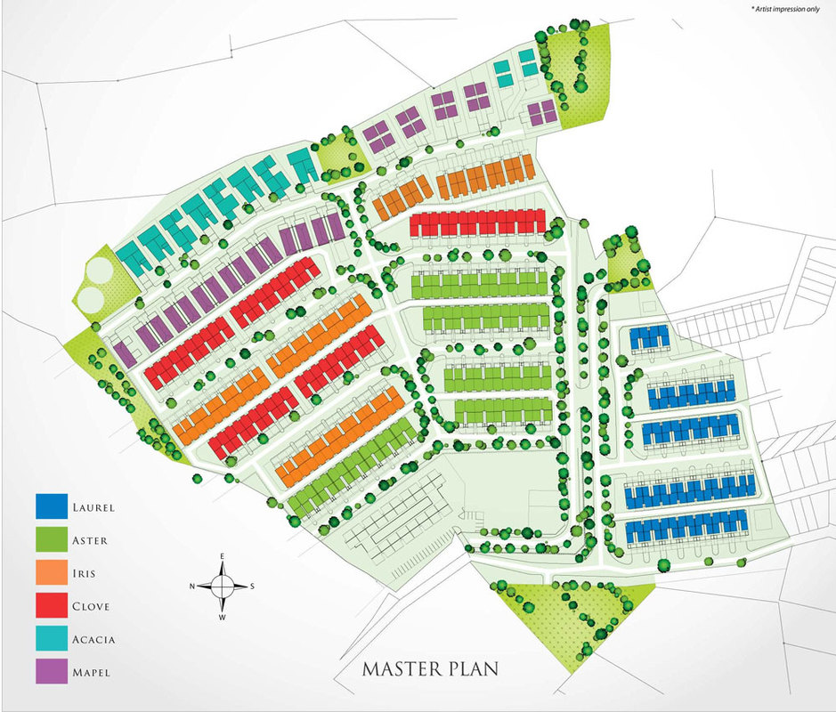Master Plan of Taman Titi Heights