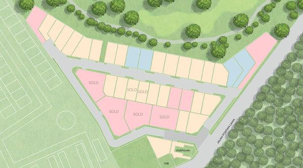 Site Plan of The Enclave @ Pulai Springs Resort