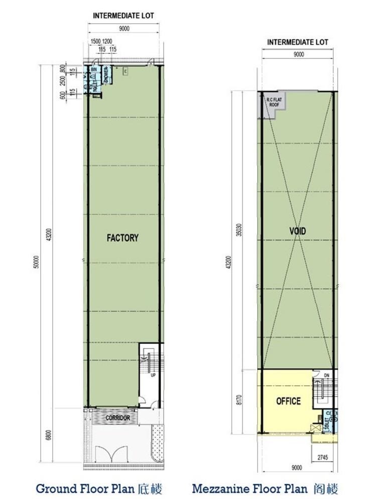 Taman Perindustrian Murni Senai Phase 3 - Package A Floor Plan