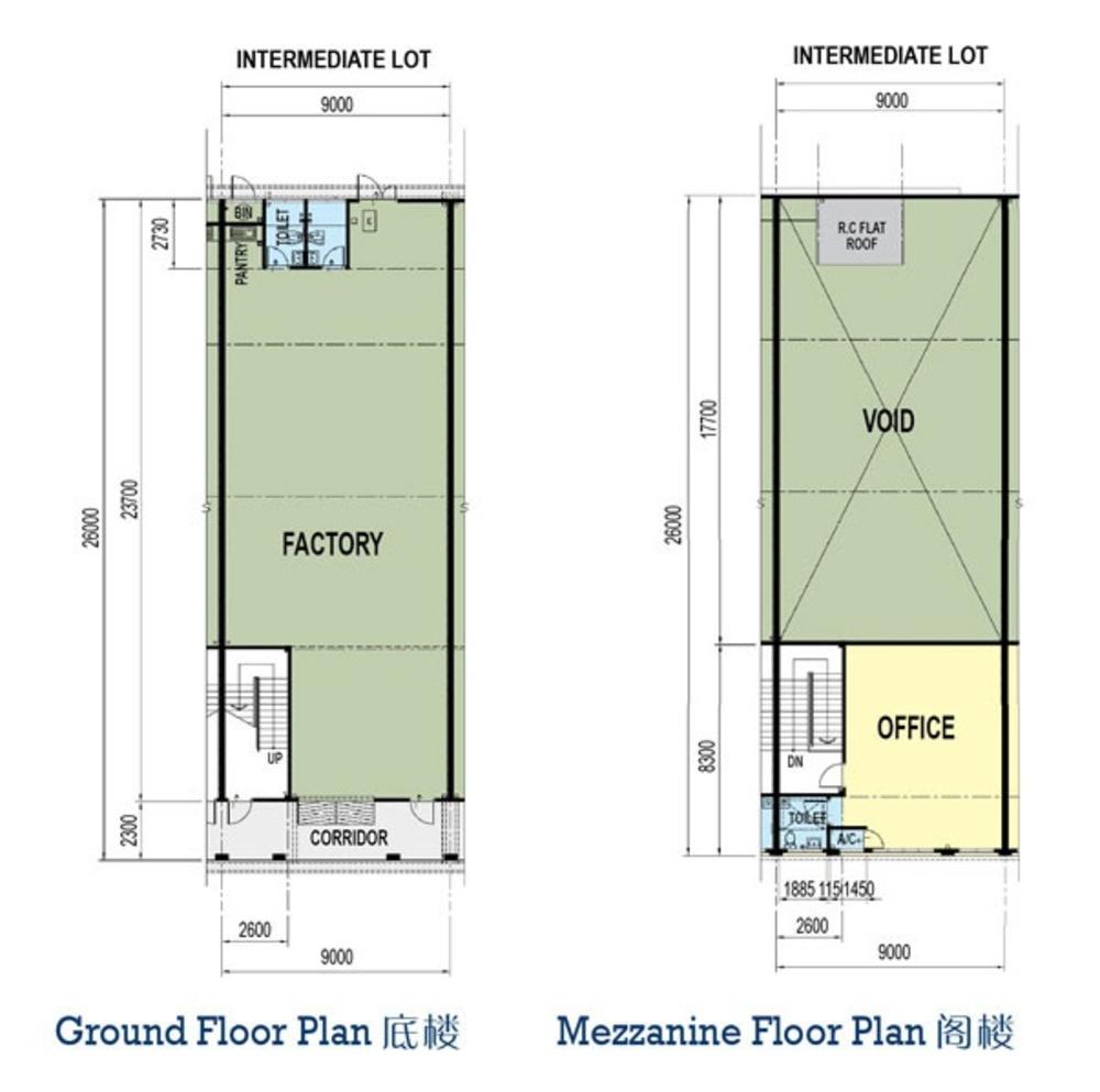 Taman Perindustrian Murni Senai Phase 3 - Package B Floor Plan