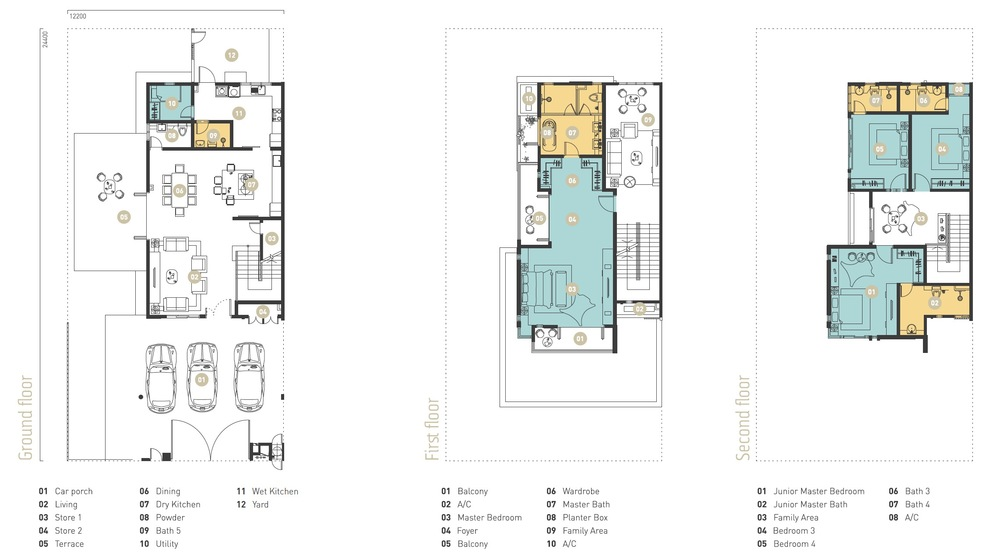 Murfree Zinnia Floor Plan