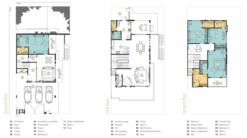 Murfree Crest Floor Plan