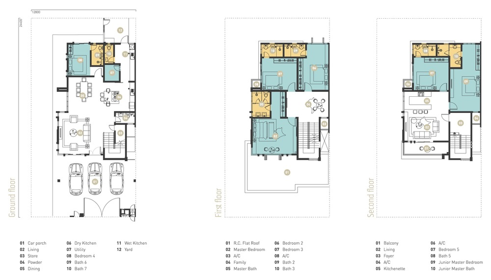 Murfree Mogul Floor Plan