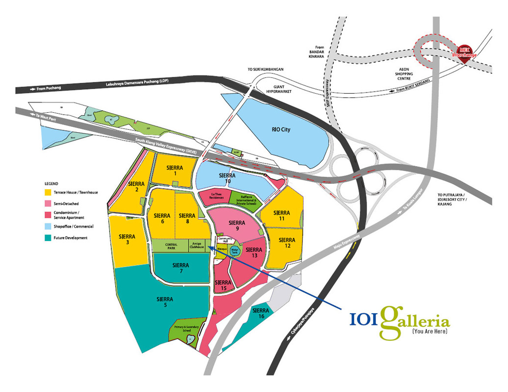 Master Plan of N'Dira Townhouse