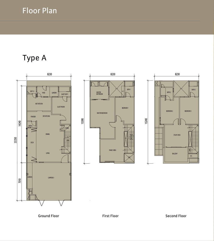 Sierra 6 Type A Floor Plan