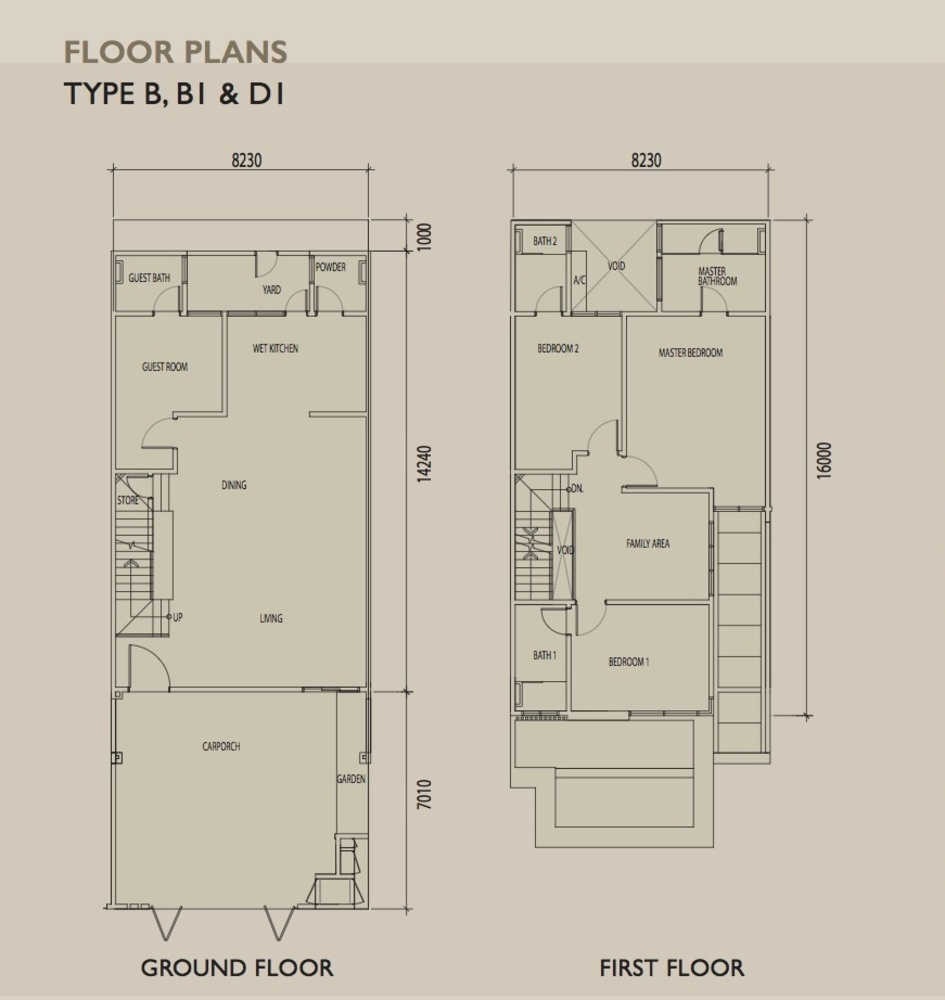 Sierra 6 Type B Floor Plan