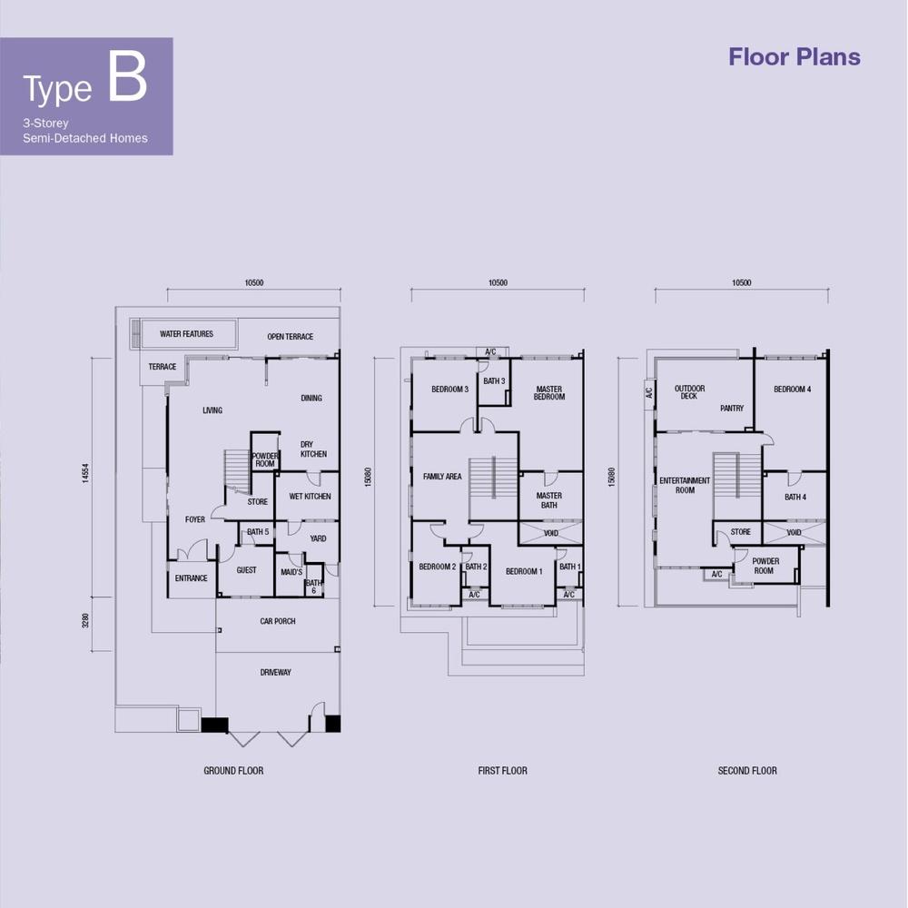 Akira Type B Floor Plan