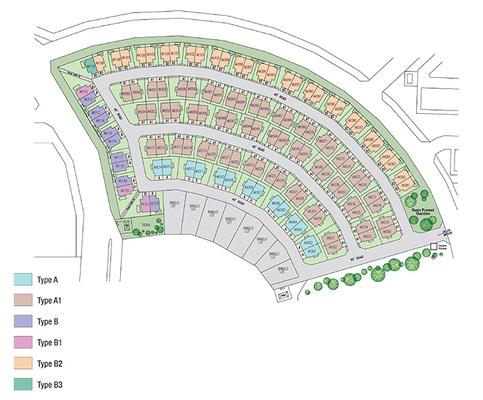 Site Plan of Akira
