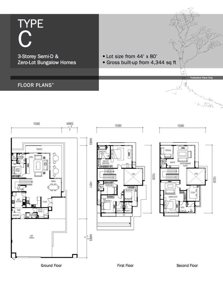 Lyden Type C Floor Plan