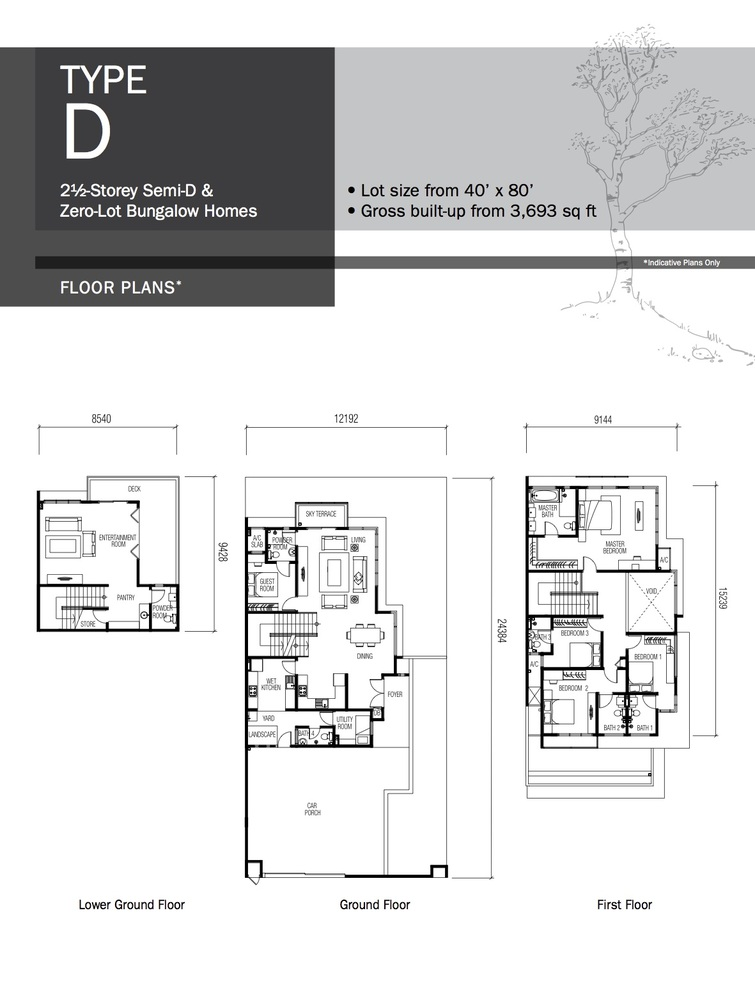 Lyden Type D Floor Plan