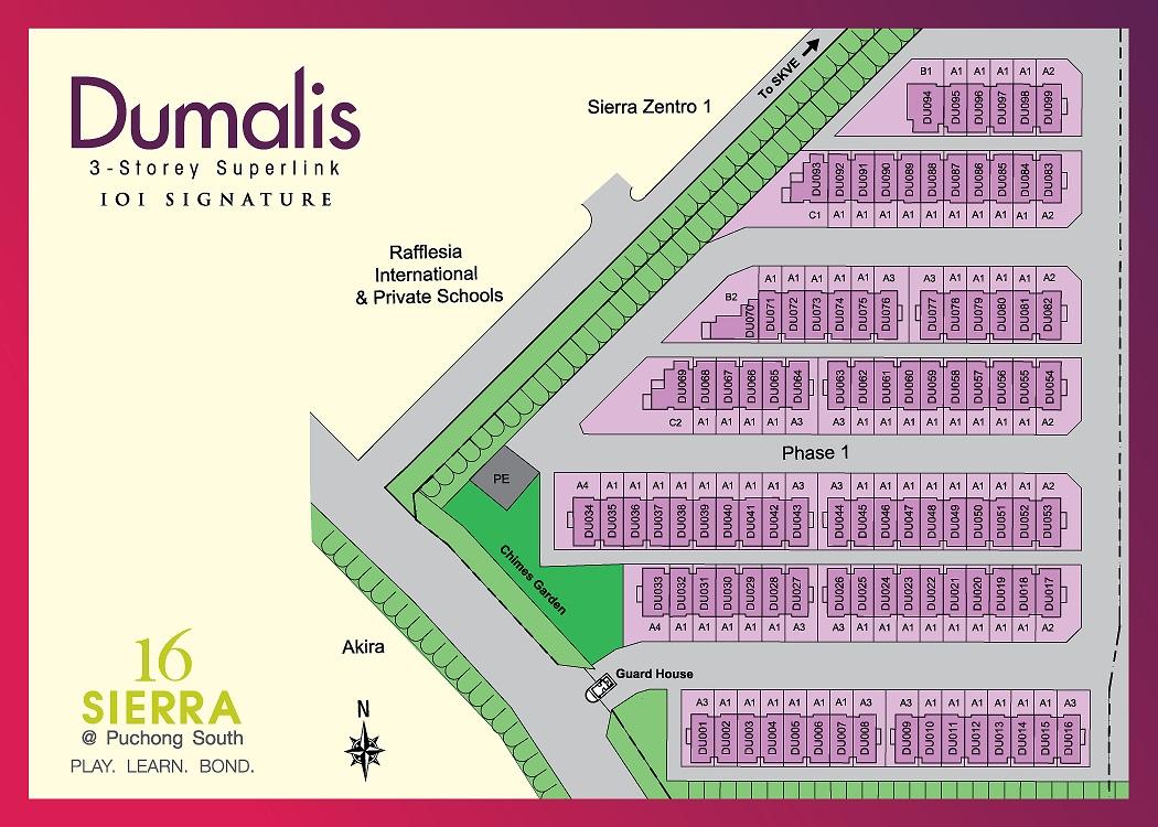 Site Plan of Dumalis