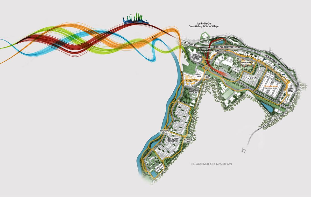 Master Plan of Avens Residence