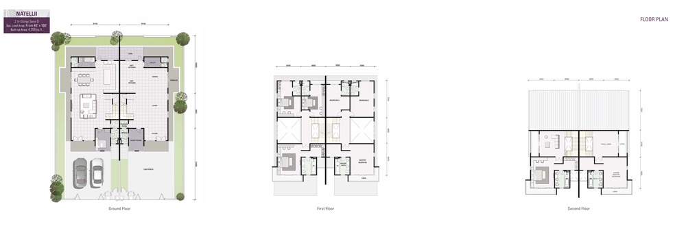 Damai Floresta Natellii Floor Plan