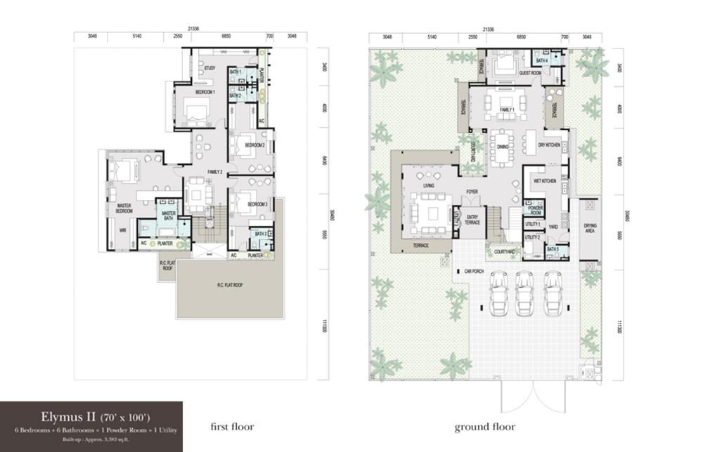 Elymus Elymus II Floor Plan