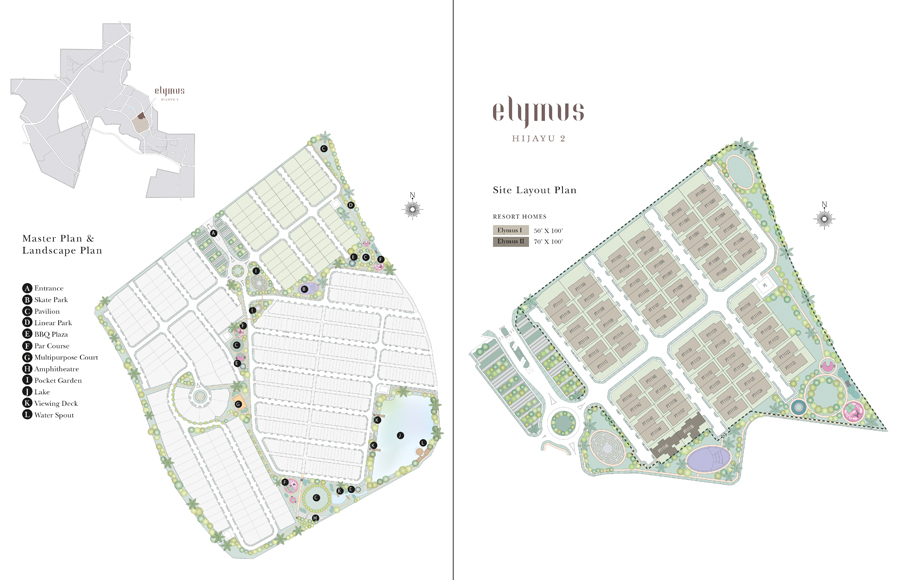 Site Plan of Elymus