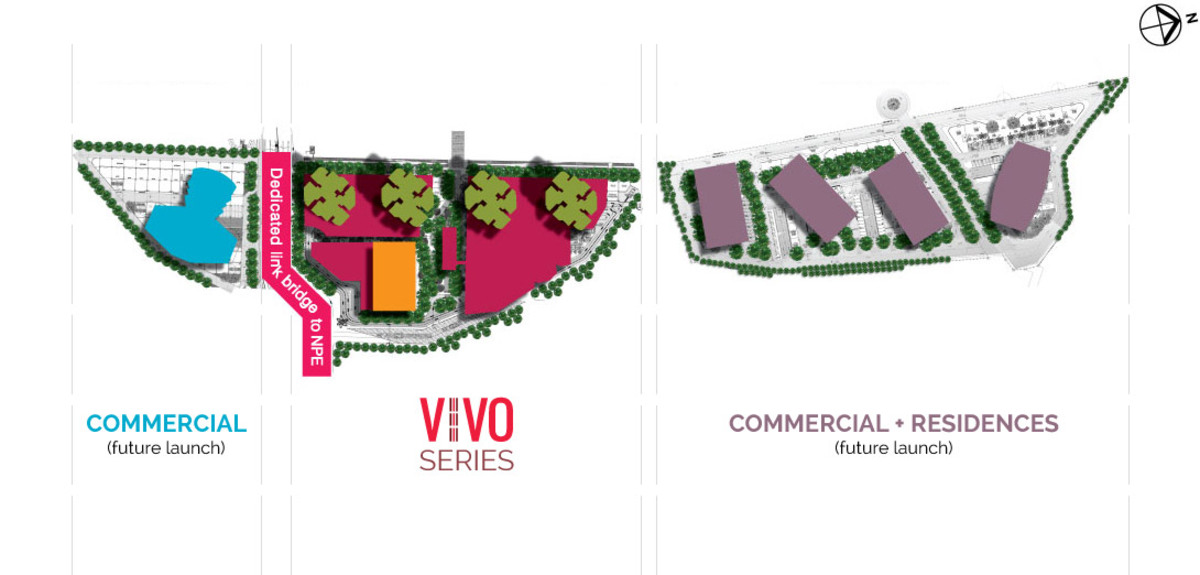 Master Plan of Vivo Residential @ 9 Seputeh
