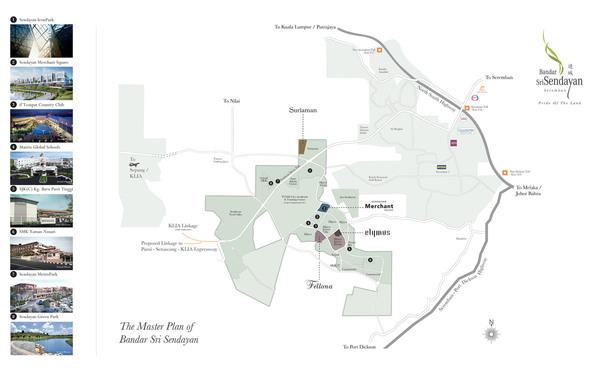 Master Plan of Sendayan Merchant Square