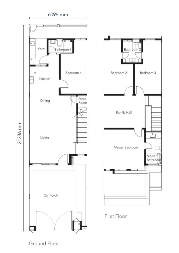 Senna Type 1 Floor Plan