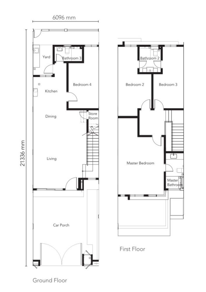 Senna Type 2 Floor Plan