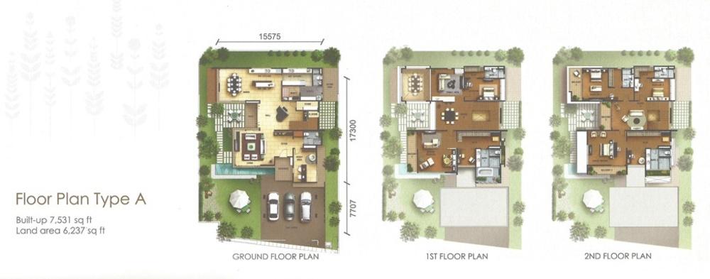 York Residence Type A Floor Plan