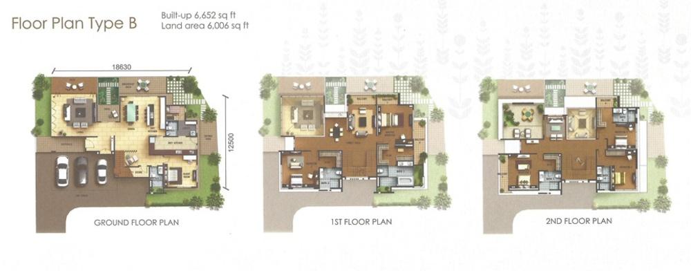 York Residence Type B Floor Plan