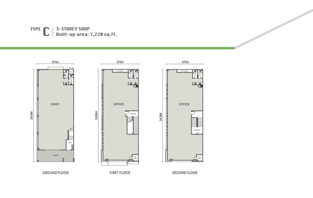 Eleven Avenue Type C Floor Plan