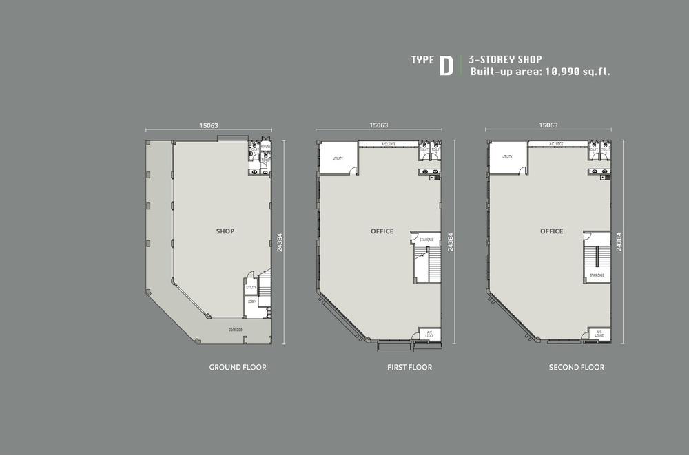 Eleven Avenue Type D Floor Plan
