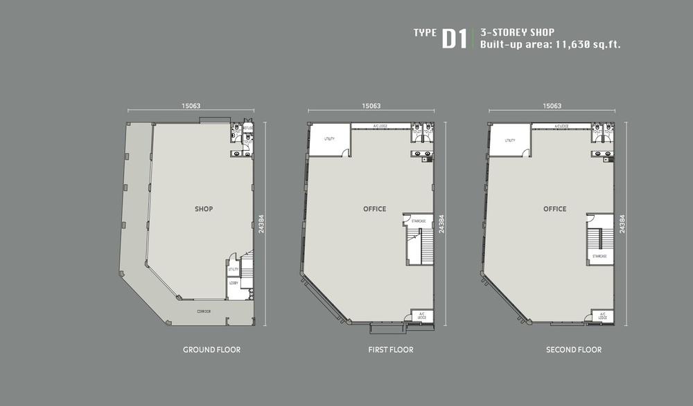Eleven Avenue Type D1 Floor Plan