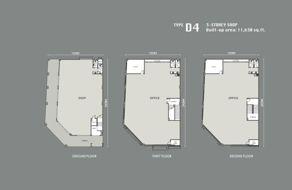 Eleven Avenue Type D4 Floor Plan