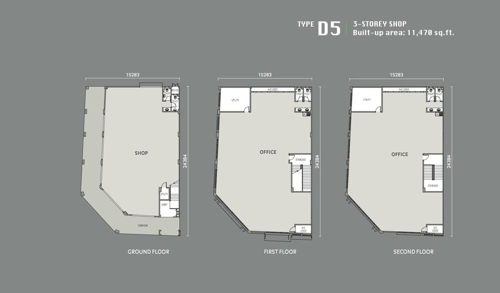 Eleven Avenue Type D5 Floor Plan