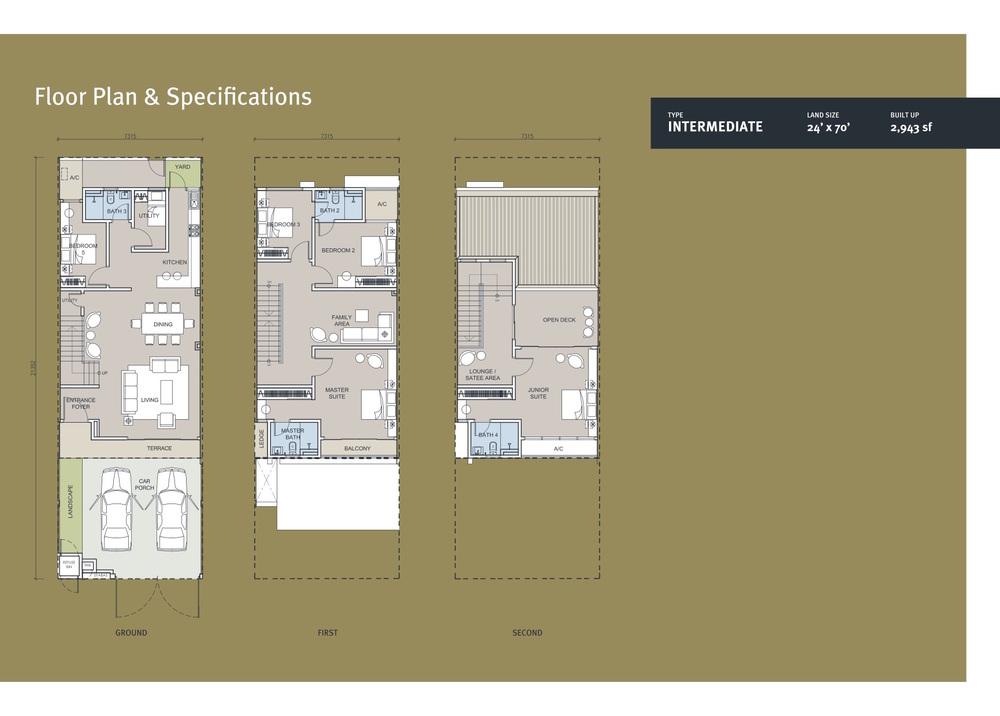 Suria Residen Rafflesia Floor Plan