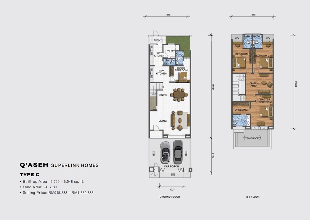 Qaseh Qaseh - Type C Floor Plan