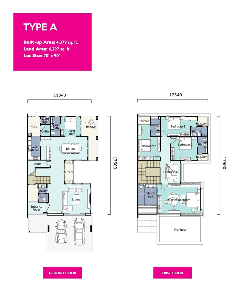 Qaseh Qaseh 2 - Type A Floor Plan