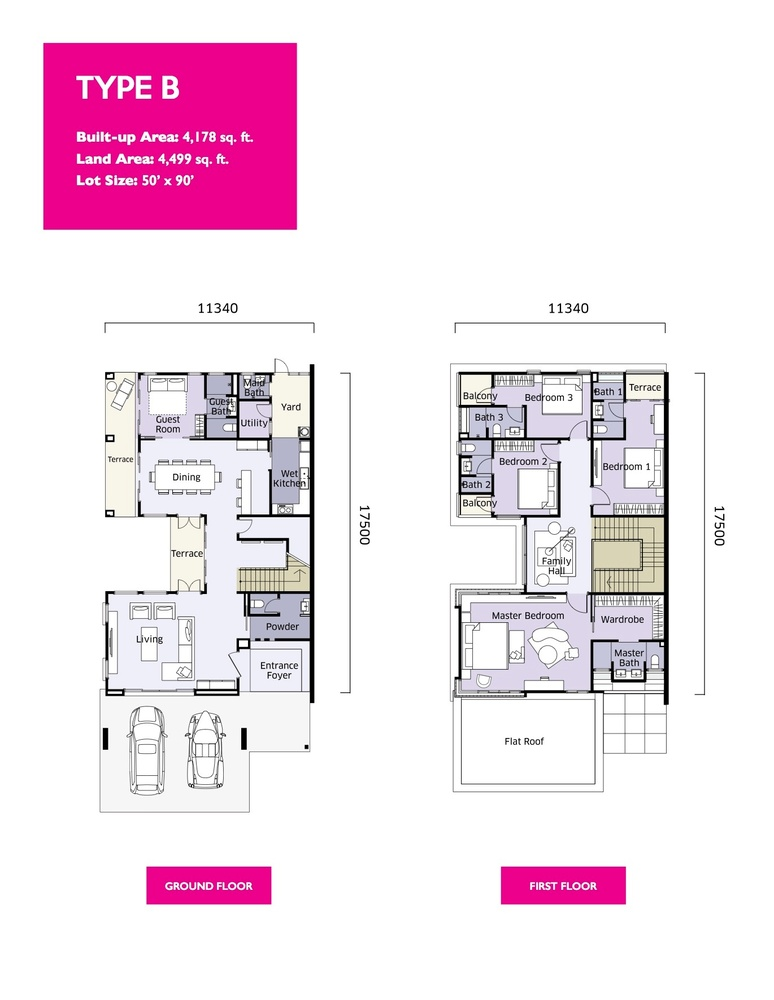 Qaseh Qaseh 2 - Type B Floor Plan