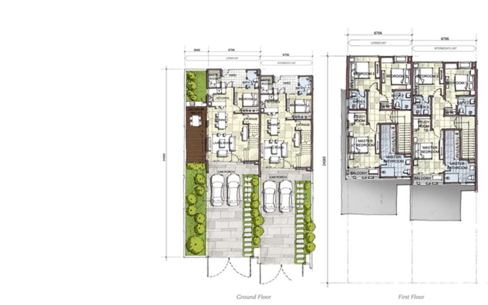 Setia Eco Cascadia Mahogany Floor Plan