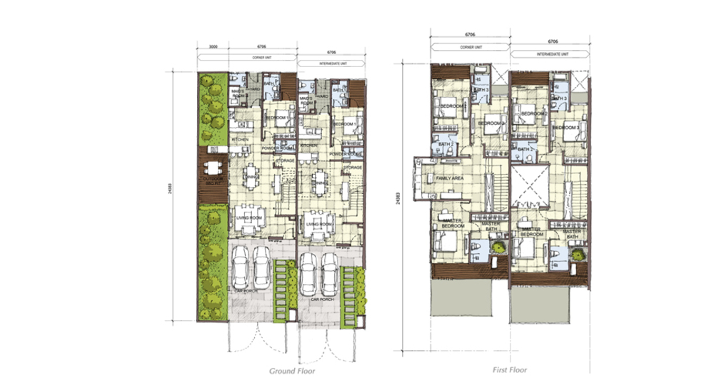 Setia Eco Cascadia Oak Floor Plan