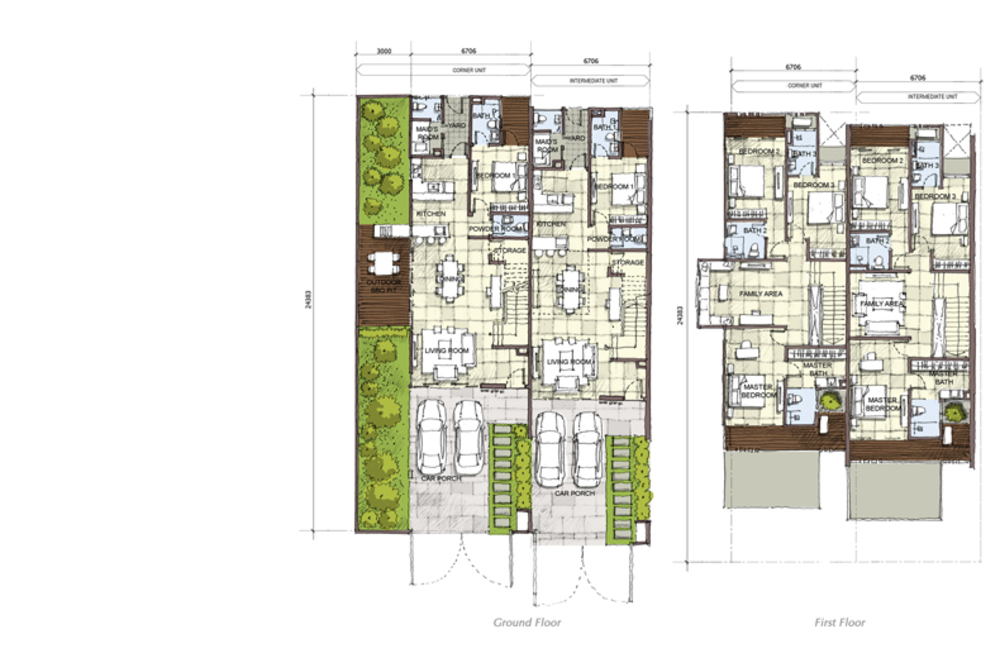 Setia Eco Cascadia Hazel Floor Plan