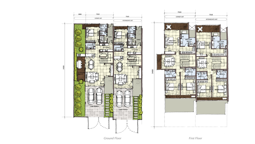 Setia Eco Cascadia Walnut Floor Plan