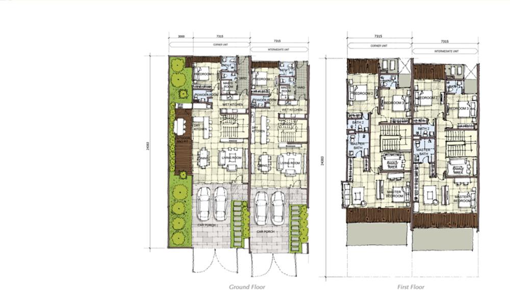 Setia Eco Cascadia Bamboo Floor Plan